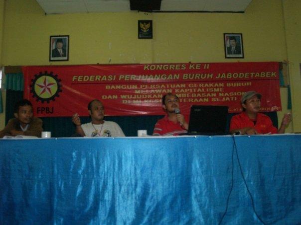 Kongres 2 FPBJ Federasi Perjuangan Buruh Jabotabek
