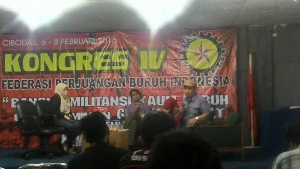 Kongres 4 FPBI Tegaskan Untuk Membangun Partai Buruh